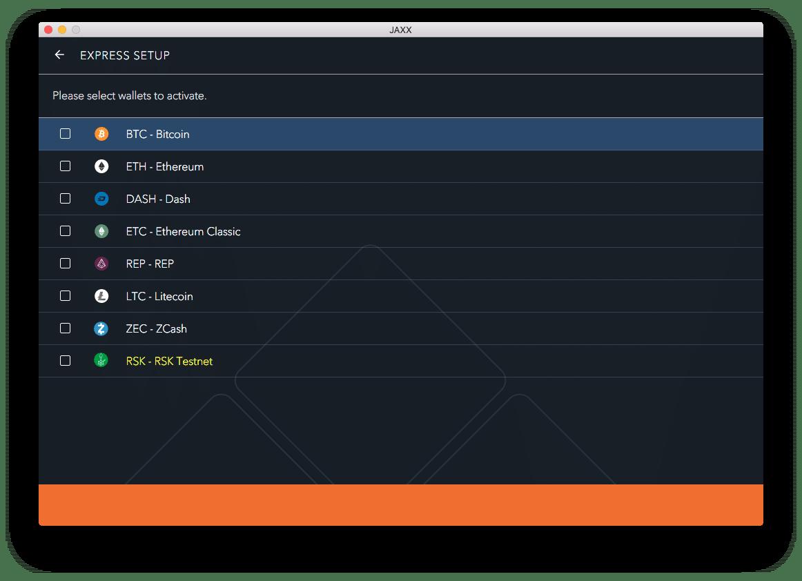 jaxx peňaženka ethereum