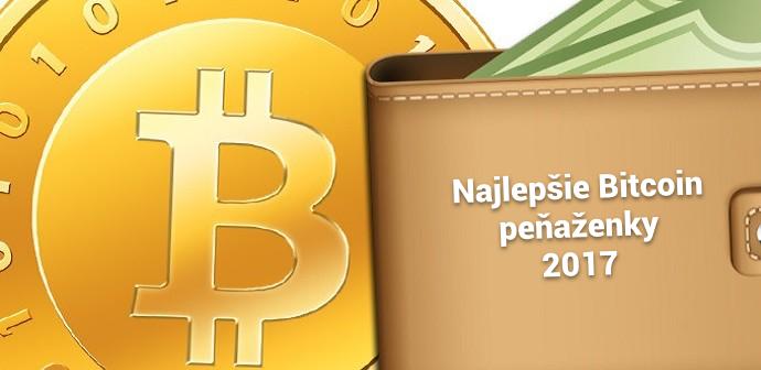najlepšie bitcoin peňaženky 2017