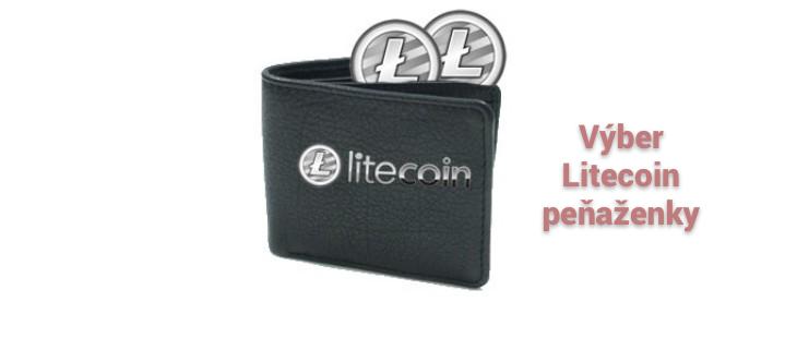 výber litecoin peňaženky