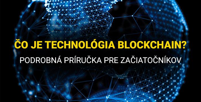 čo je technológia blockchain