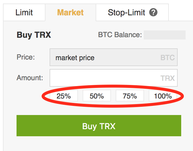 ako zamenit btc na trx binance