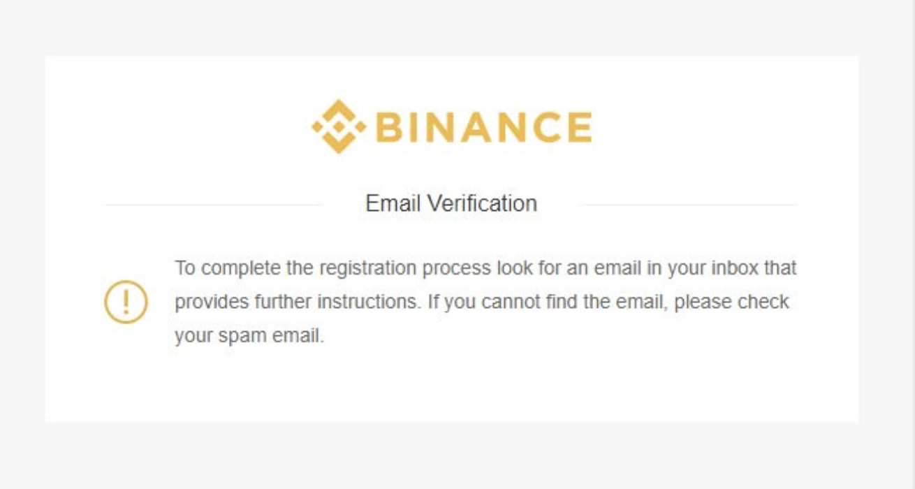 binance email verifikacia